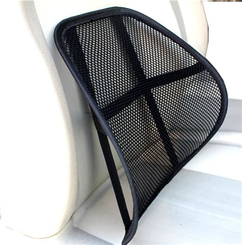 back cusion auto cool breathable mesh support lumbar support cushion