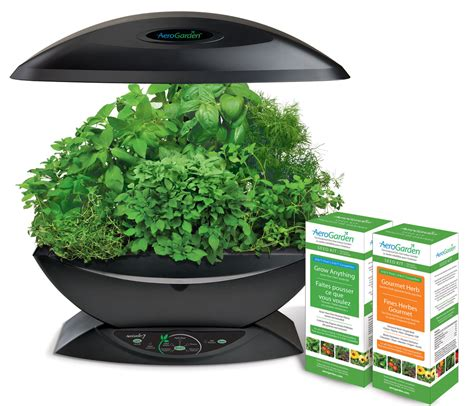 aerogarden 7 gourmet herb grow anything kit hydroponic