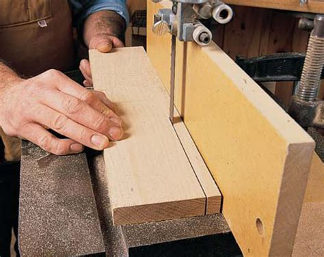 woodworking cuts bandsaw resawing popular woodworking magazine