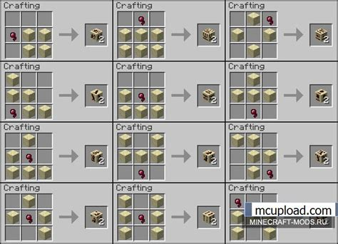 crafting for supercreator v1 0 1 2 3 mod for minecraft