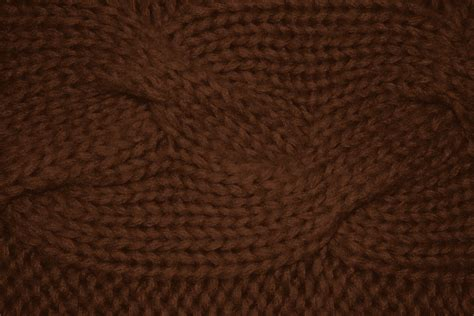 brown knit brown cable knit pattern texture picture free photograph