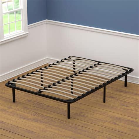 fullsize bed frame handy living size wood slat bed frame free shipping