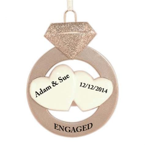 ornament for engagement engagement ornament invitation template