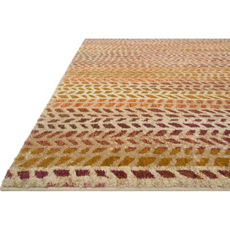 modern patterned rugs sola modern orange patterned pink rug 5x7 6 kathy kuo home