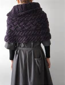 Knitted Cape Knitting