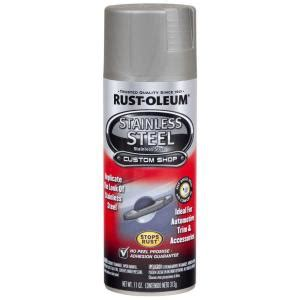 home depot spray paint for metal rust oleum automotive 11 oz stainless steel spray paint