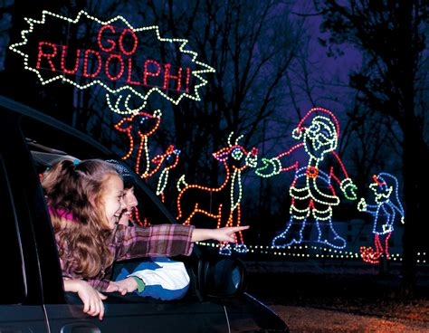 lake rudolph lights in santa claus ind