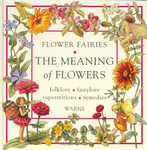 flower picture book flower fairies fairies faeries fey by cicely barker