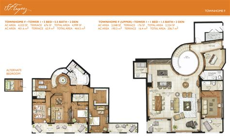 townhome floor plan st tropez townhome floorplans