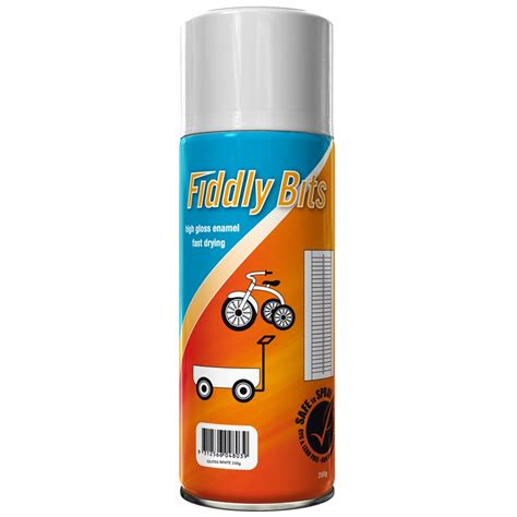 spray paint in fiddly bits 250g spray paint gloss white bunnings