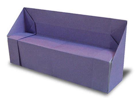 origami sofa origami sofa
