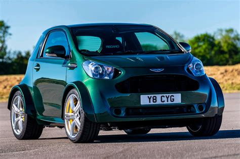 Aston Martin Toyota Iq by Aston Martin Unleashes The Beefy Cygnet V8 Racer Hypebeast