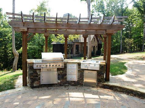 simple outdoor kitchen designs triyae simple backyard kitchen ideas various