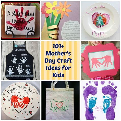 mothers day craft ideas crafts photos gifts