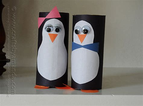 penguin toilet paper roll craft 51 toilet paper roll crafts do small things with