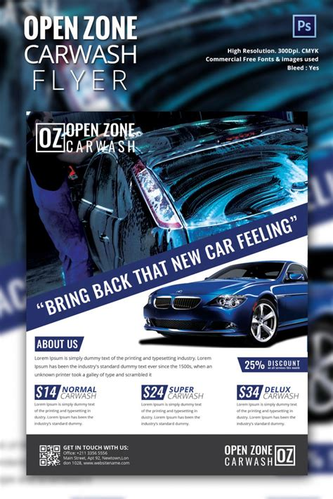 Car Wallpapers Free Psd Templates by Auto Detailing Flyers Design Yourweek 22d05ceca25e