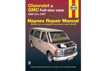 free auto repair manuals 2002 gmc savana 3500 electronic throttle control gmc savana 3500 repair manual how to troubleshooting manual guide book