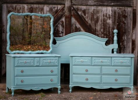 painted bedroom furniture sets painted provincial dresser set by funcycled www