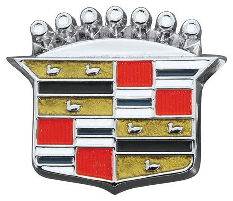 Cadillac Badge by Restoparts Eldorado Trunk Lock Emblem 1964 68 Crest