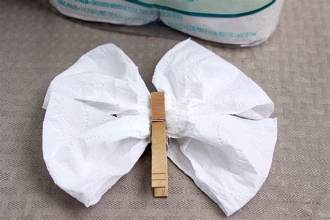 toilet paper origami butterfly diy toilet tissue origami crafts
