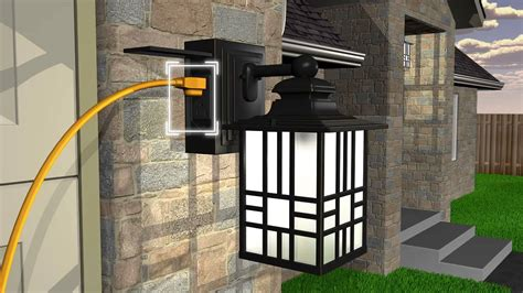 porch ceiling lights with motion sensor wiring motion sensor porch light fixture