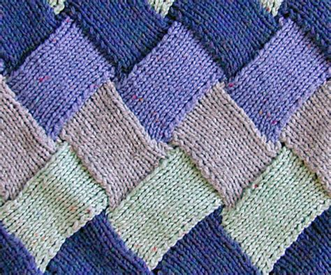 entrelac knitting entrelac knitting tutorial and patterns stitch n purl
