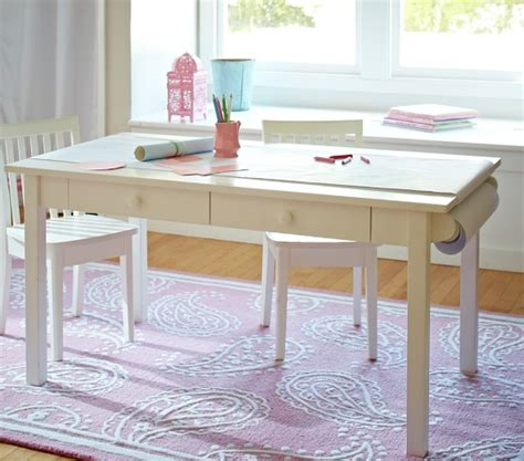 pottery barn craft table carolina grow with you craft table pottery barn