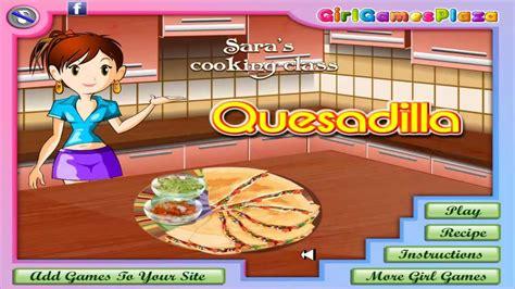 guegos de cocina con sara juegos de chicas aprendiendo a cocinar con sara kiz10