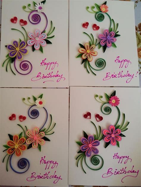 card with quilling 25 best ideas about quilling cards on paper