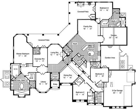 luxury mansions floor plans luxury house plans