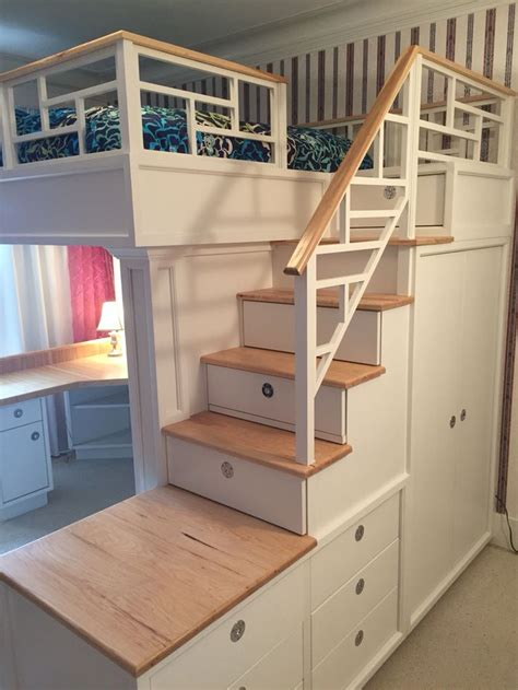 loft beds with desks 25 best ideas about bunk beds with stairs on