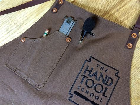 leather woodworking apron retiring a useful friend for a younger hotter model the