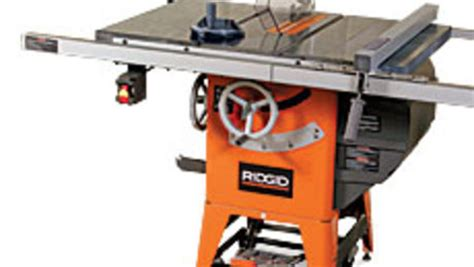 hybrid table saw reviews woodworking ridgid tools r4511 hybrid tablesaw finewoodworking