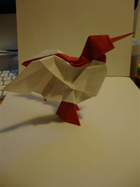 origami hummingbird tutorial 23 best images about origami on valentines