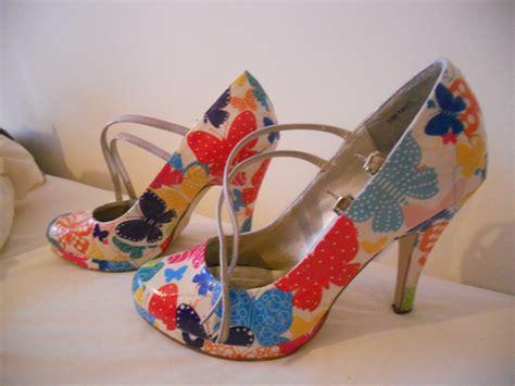 decoupage on shoes decoupage shoes rosemary kusel