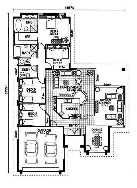 4 bedroom house designs australia 25 best ideas about australian house plans on