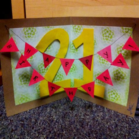 how to make a cool birthday card out of paper pin by allison chin on diy