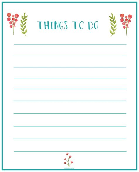 for printable home office update things to do printable living la