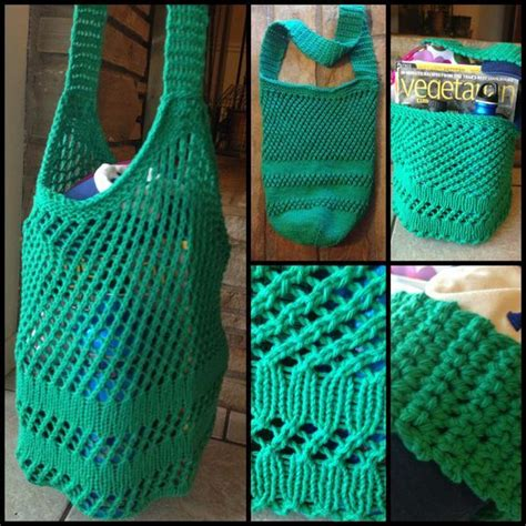 free knitting patterns with cotton yarn best 25 knitted bags ideas on