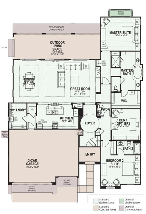 robson ranch floor plans luxury retirement communities for active adults and 55