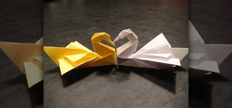 how to make a swan origami how to fold an origami swan by robert j lang