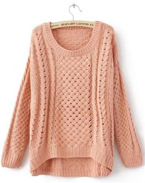 big knit jumpers big big sweater fall fashion girly