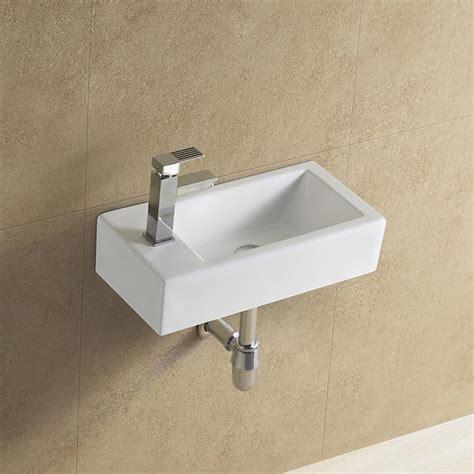 rectangular wall mounted narrow sink view narrow sink