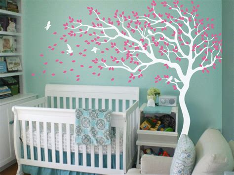 tree decal for nursery wall nursery tree wall decals wall stickers wall tree decals