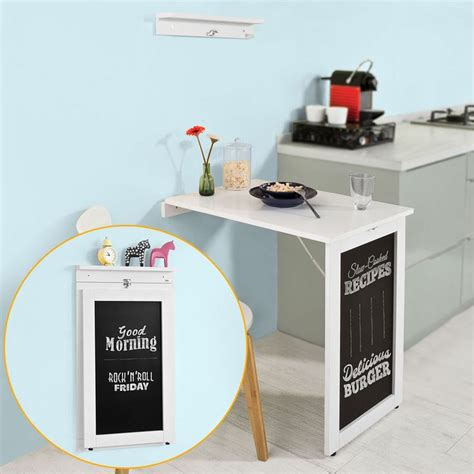 folding wall kitchen table best 25 wall mounted folding table ideas on
