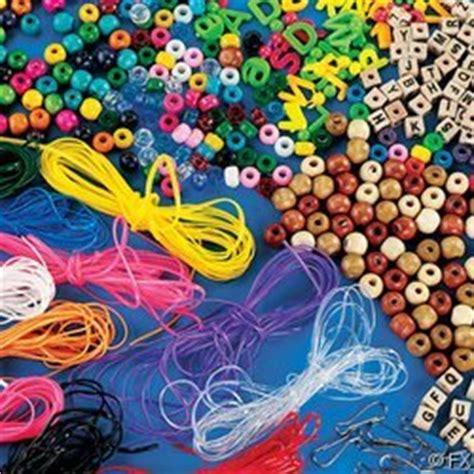 pony bead lacing cord 2000 pc bead kit beading supplies wood