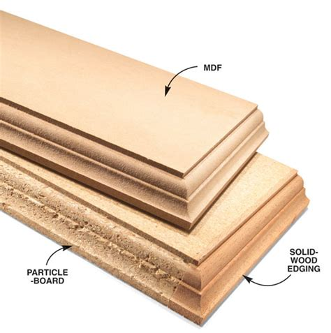 woodworking plywood mdf vs particleboard for woodworking
