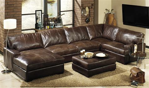 large leather sofas large leather sectional sofas cleanupflorida
