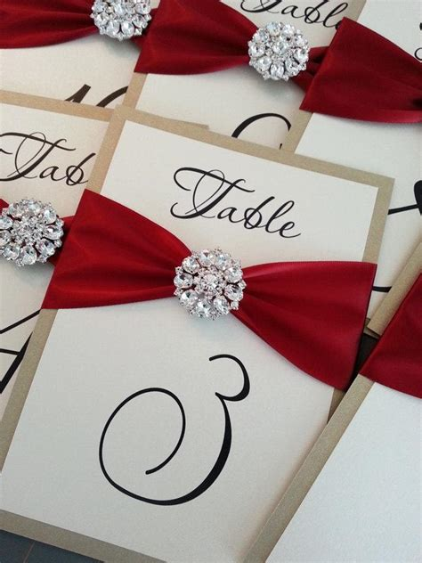 how to make table number cards decor wedding table number cards 2062631 weddbook