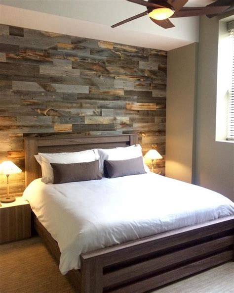 wooden wall bedroom 30 wood accent walls to make every space cozier digsdigs